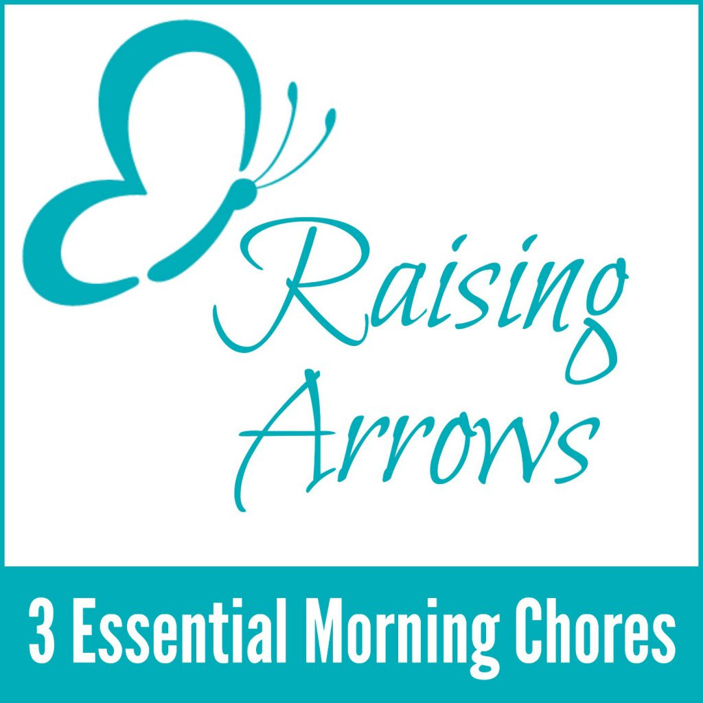 What 3 chores should you do as a homemaker to keep your home running smoothly the rest of the day? Listen to the podcast to find out!
