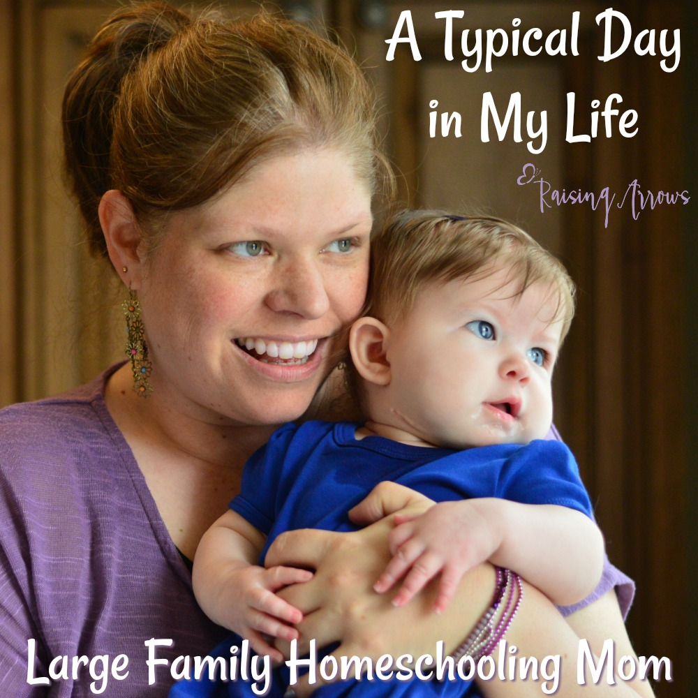 Here's your chance to peek inside this large homeschooling family's life and see how things run (and realize they really aren't much different from you!)