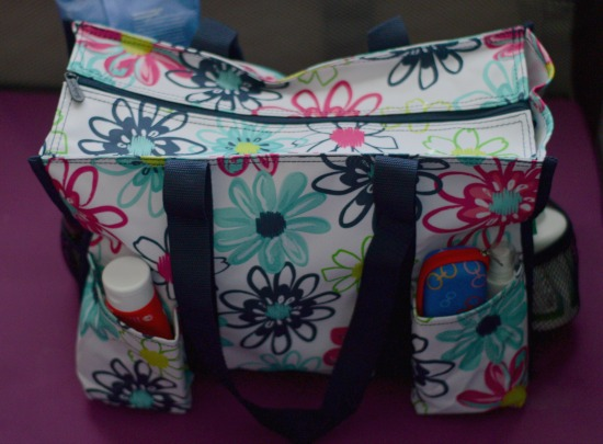 Zip Top Organizing Tote!