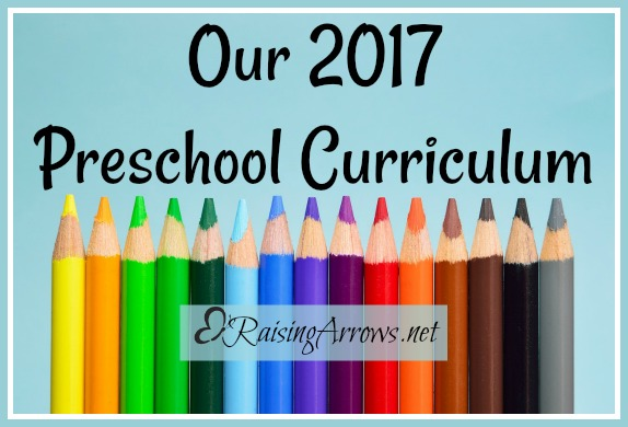 Our 2017 Preschool Curriculum