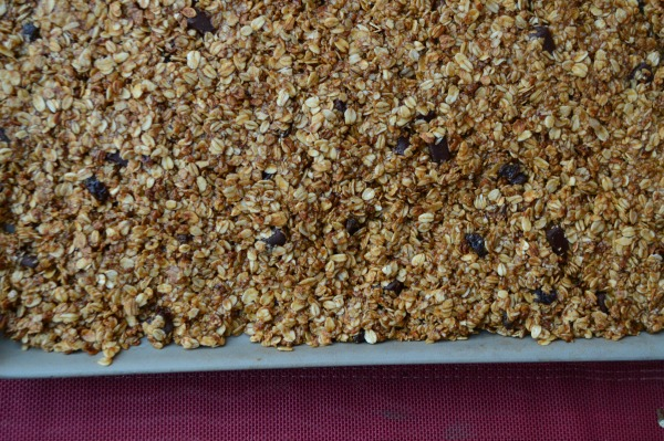 Large batch of homemade granola can be made from any granola!