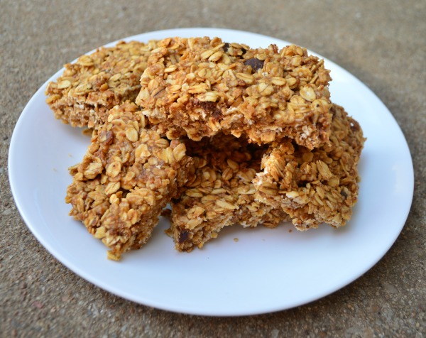 Our favorite homemade granola bars! You can use ANY granola to make these!