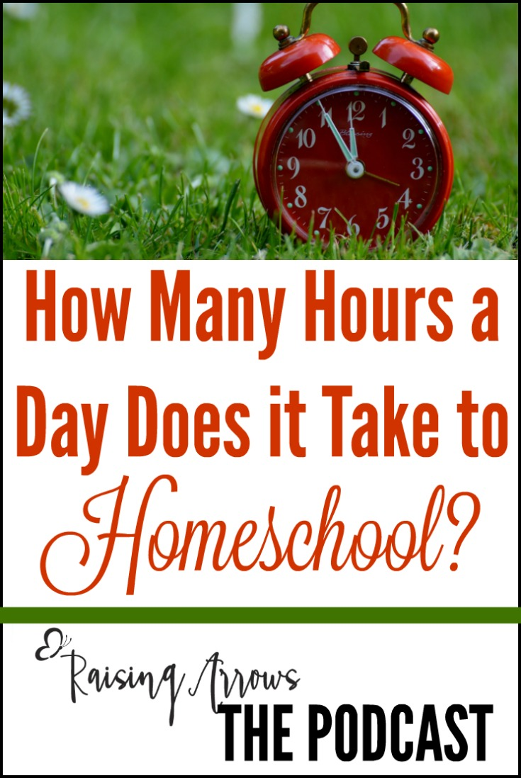 How Many Hours Does it Take to Homeschool? – Podcast 026