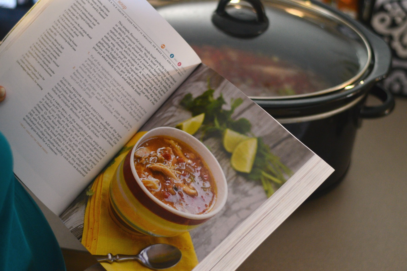 Trim Healthy Table cookbook is fantastic! Full of easy family-sized recipes!