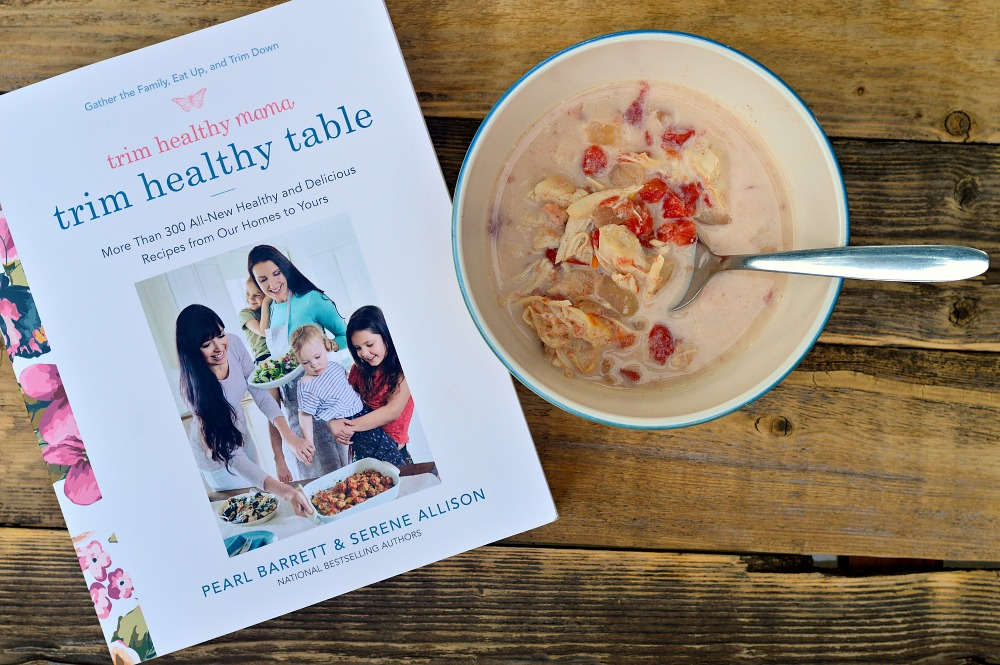 Chicken Fajita Soup from Trim Healthy Table