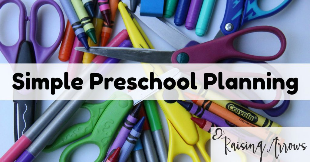 Making preschool planning (and doing) easier - especially when pulling from several resources