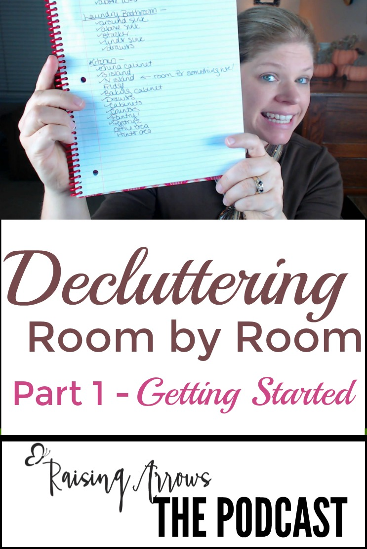 Decluttering Room by Room | Part 1 – Podcast 029