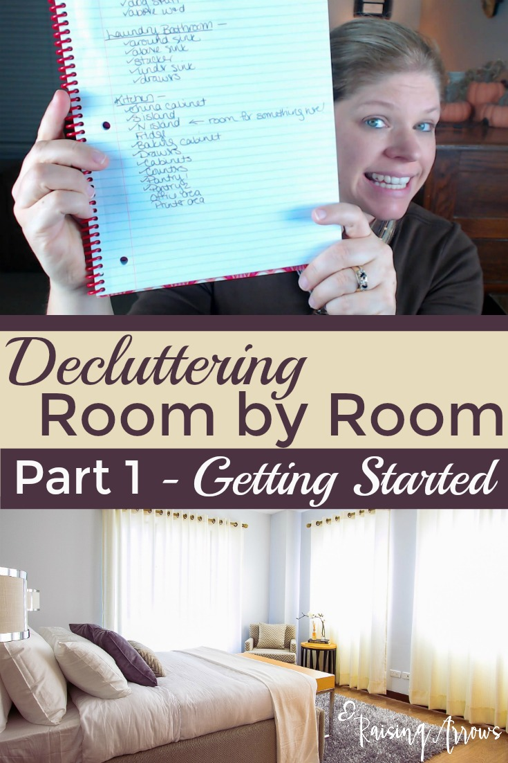 How to Declutter Room by Room – Getting Started