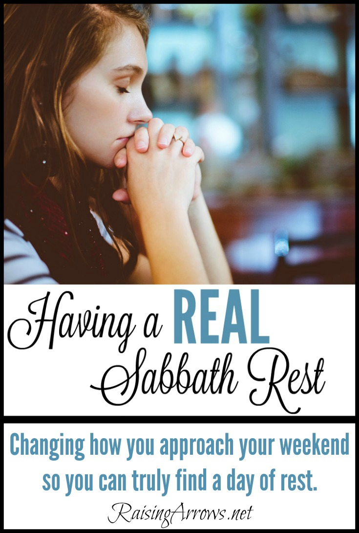 How I Found REAL Sabbath Rest