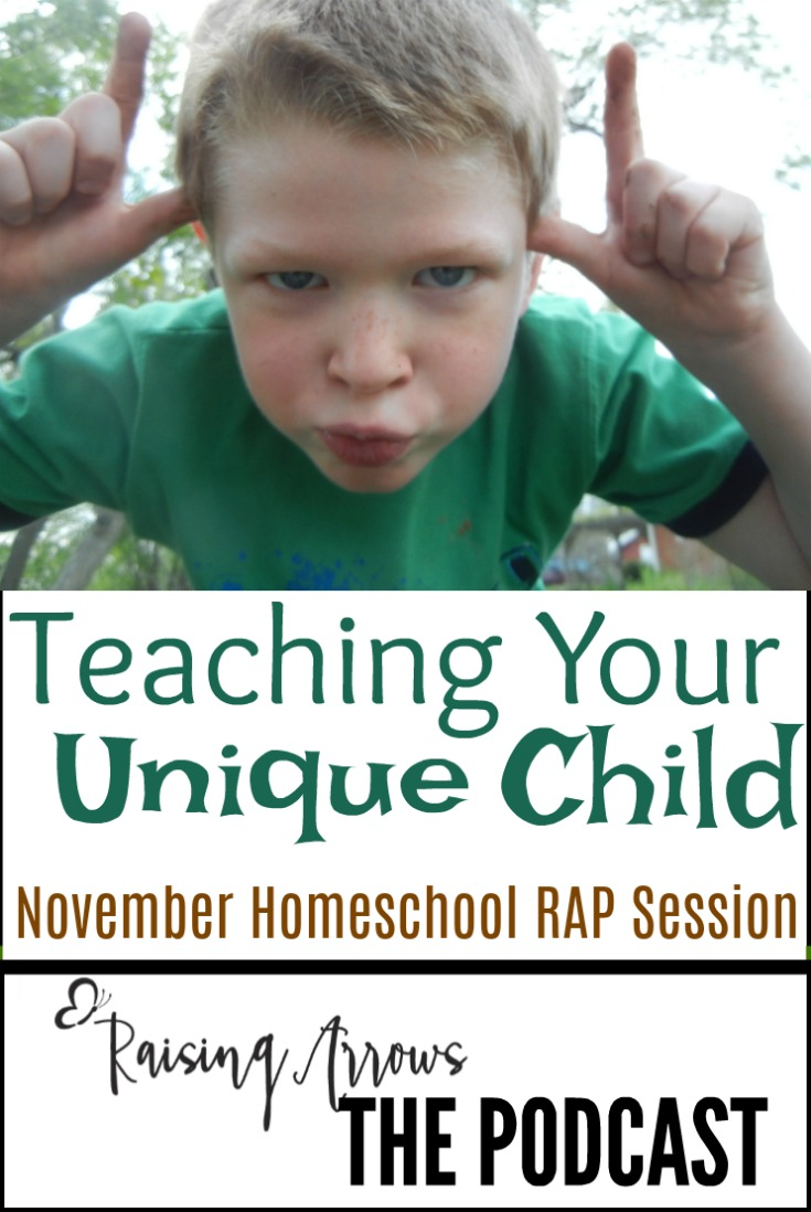 Every child is different, but how is a homeschool mom supposed to teach to all these different styles and personalities?  This podcast answers that question and more!