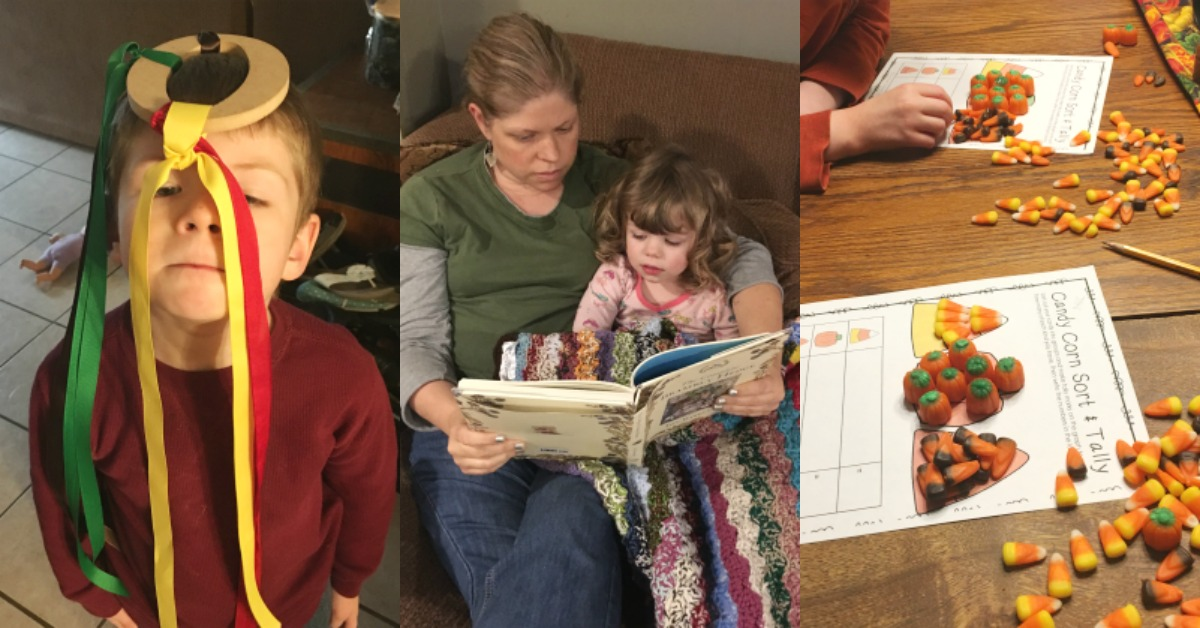 Large Family Homeschooling Week in Review 11/17/17