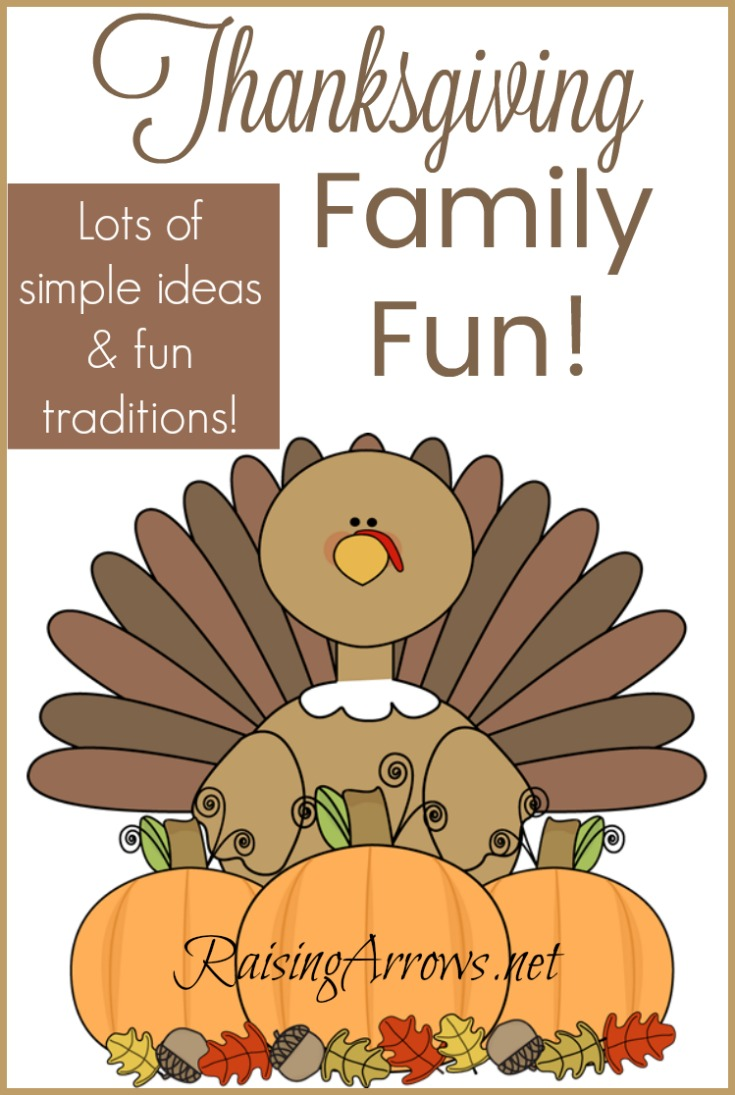 After the Thanksgiving meal is eaten, keep on making fun family memories with these simple ideas, crafts, and traditions!