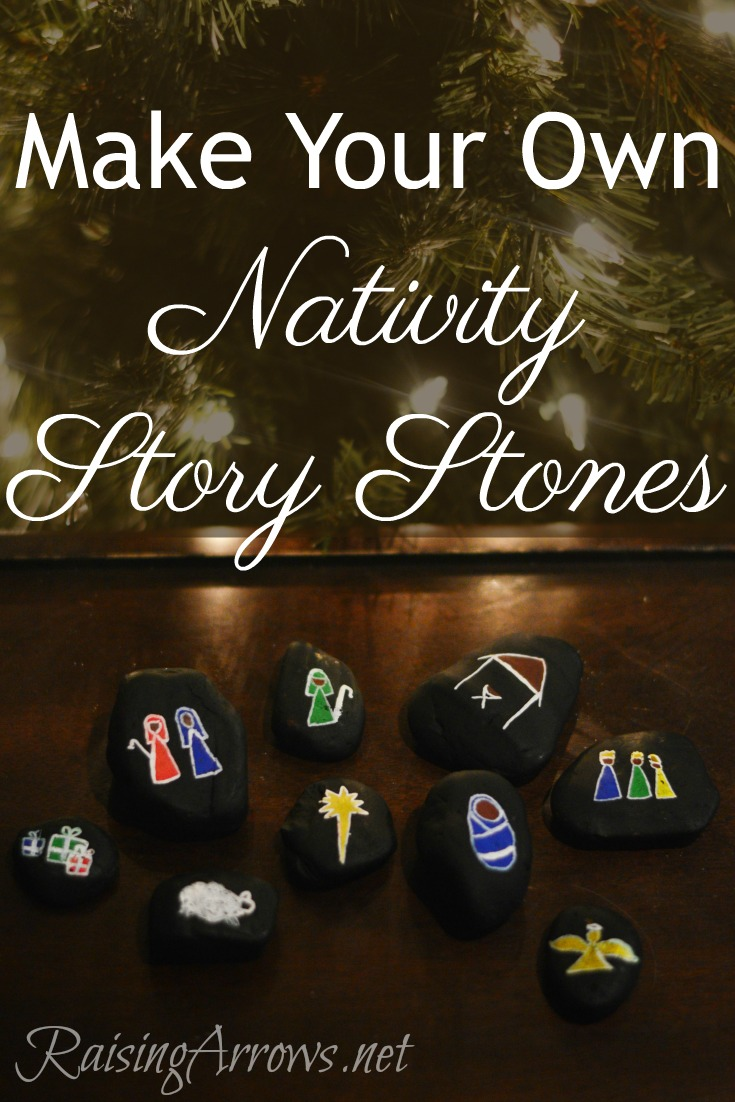 Make Your Own Nativity Story Stones