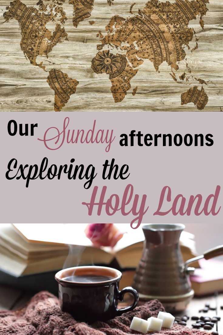 On slow Sunday afternoons, our family gathers on the living room couch and we explore the Holy Land together. Here's how you can too!