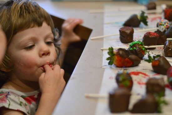 Valentine's Candy in this week's Large Family Homeschooling