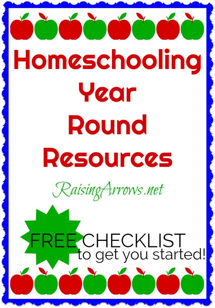 Considering homeschooling year round? Find all the resources you need to set up a schedule, plan your school year, and much more!