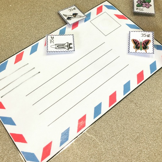 Playing Post Office in this week's Large Family Homeschool Week in Review!