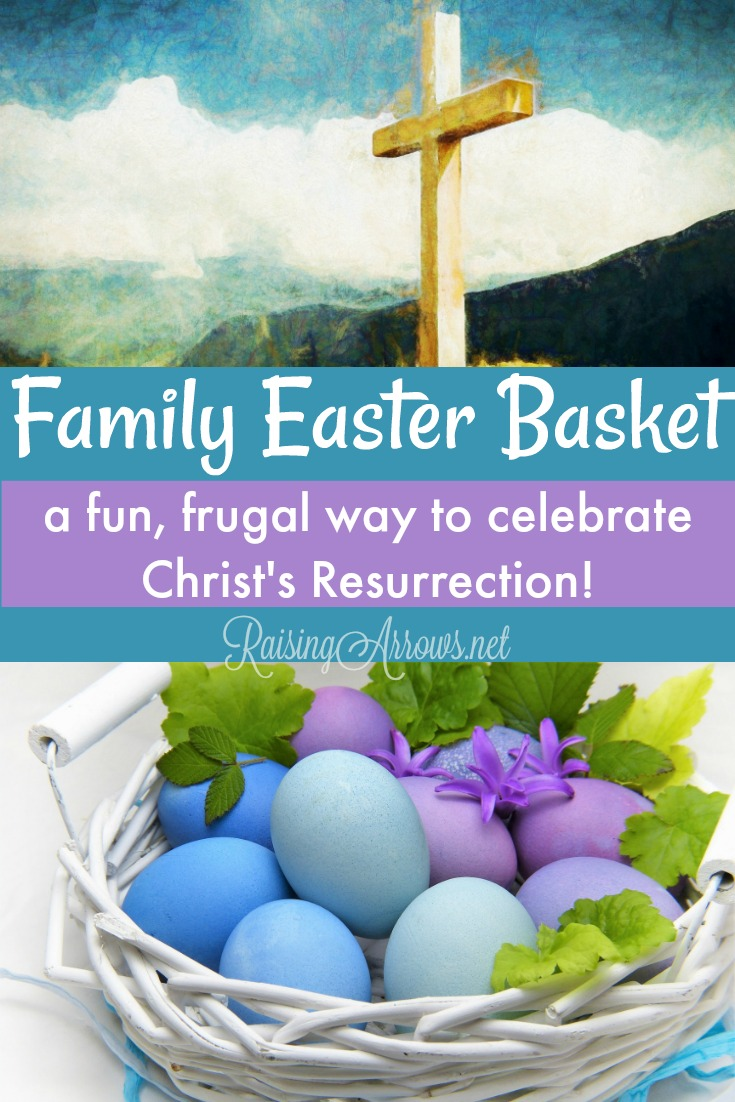Fill just one Easter basket this year full of goodies the entire family can share and enjoy! Get a huge list of ideas for creating your own Family Easter Basket this year!