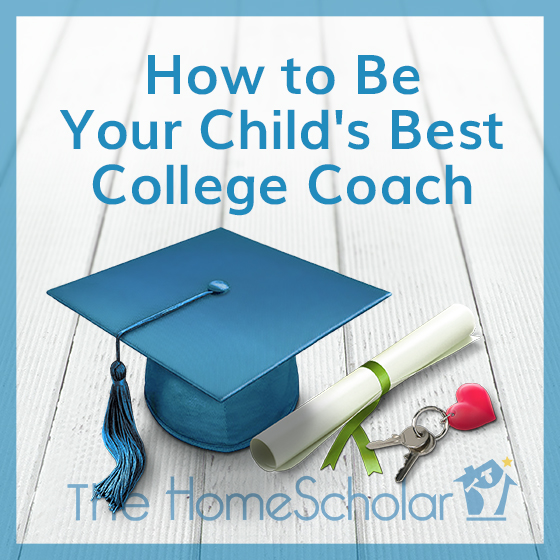 Be your child's college coach!