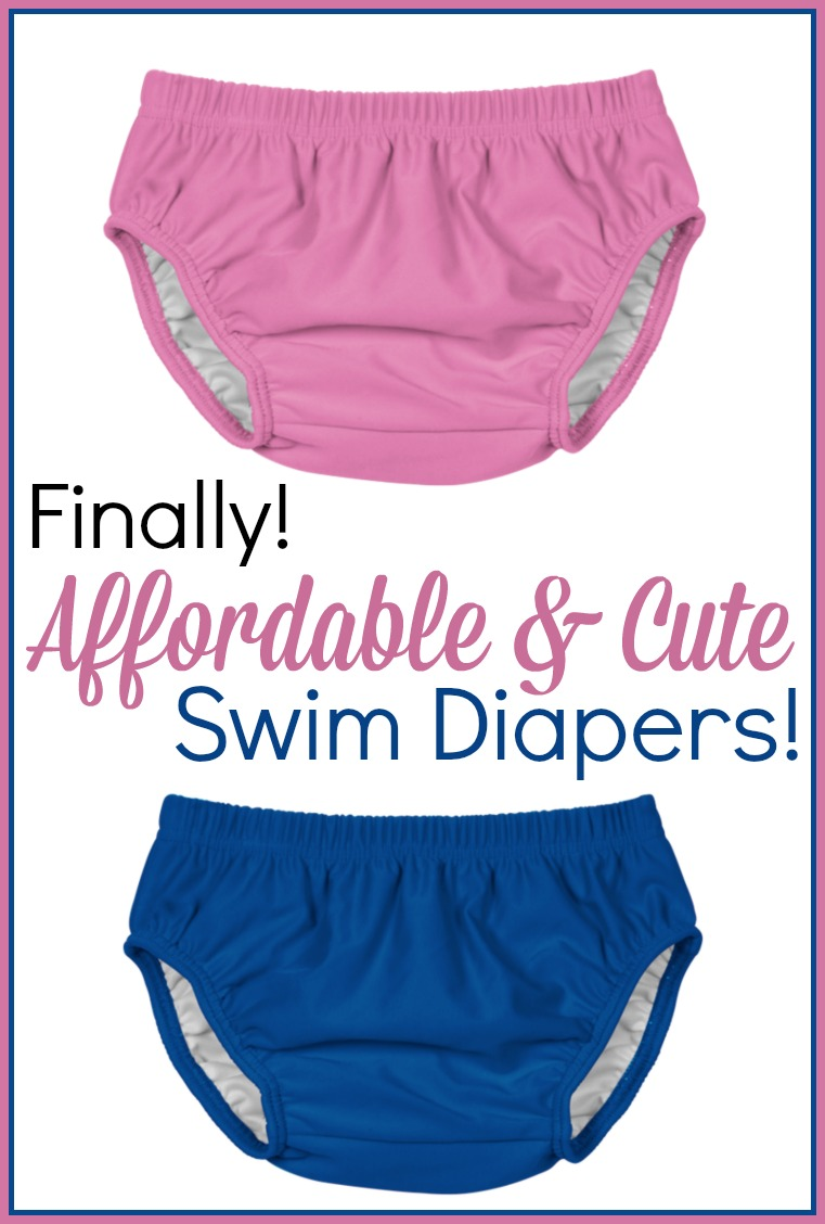 Cute, Cheap, and Reusable Swim Diapers!