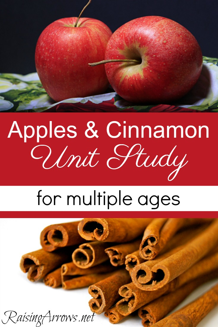Apples & Cinnamon Unit Study for use with multiple ages