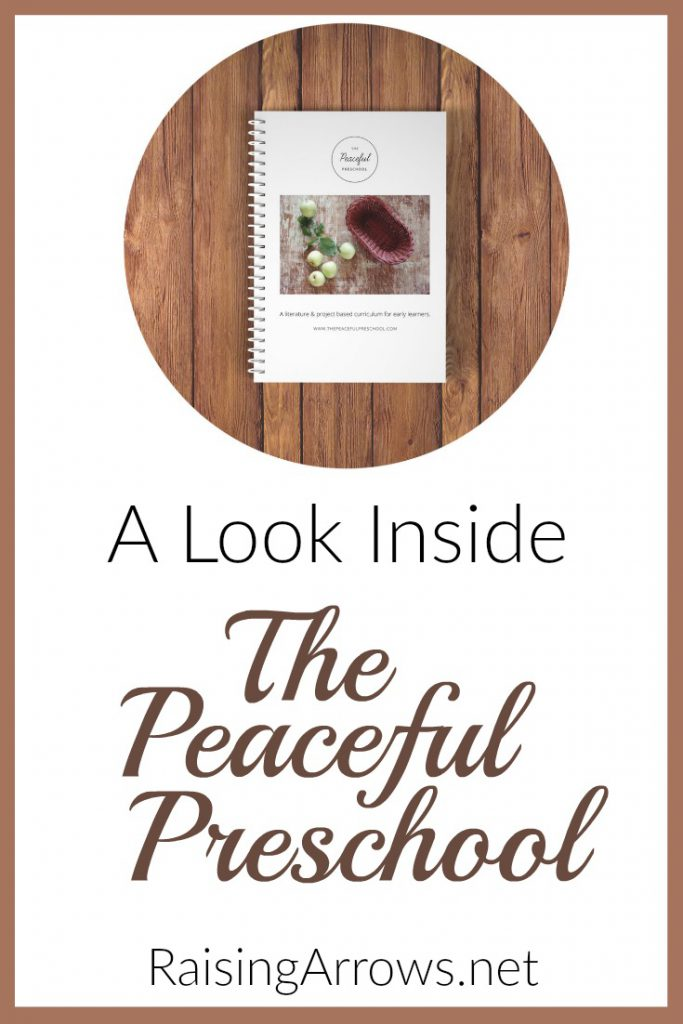 A review of The Peaceful Preschool from a mom of many!
