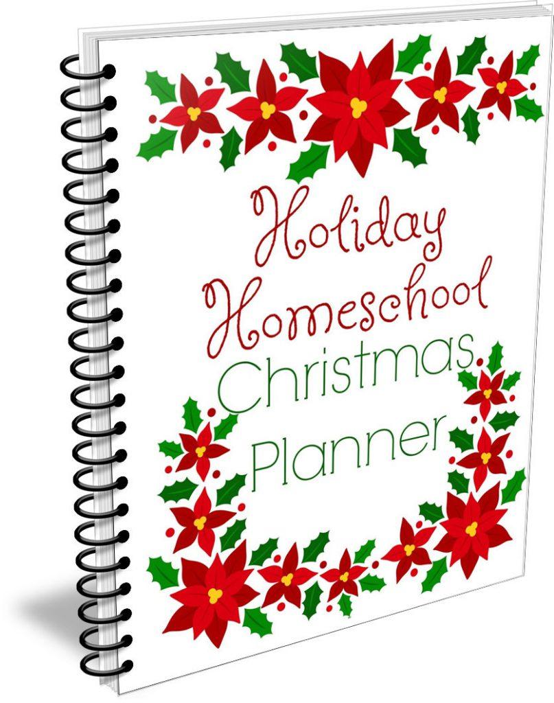 Christmas Holiday Homeschool Planner