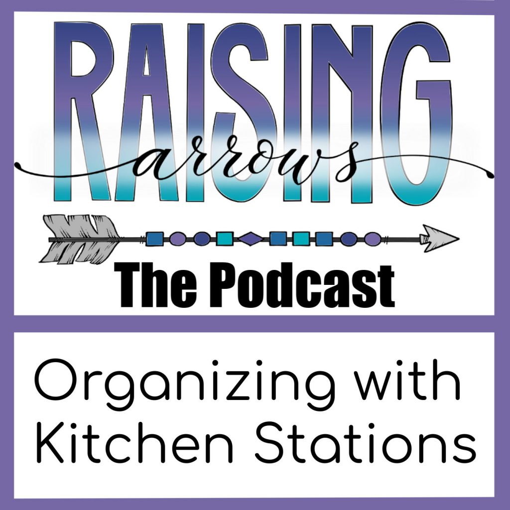 Learn how to organize your kitchen by grouping like items together into stations.