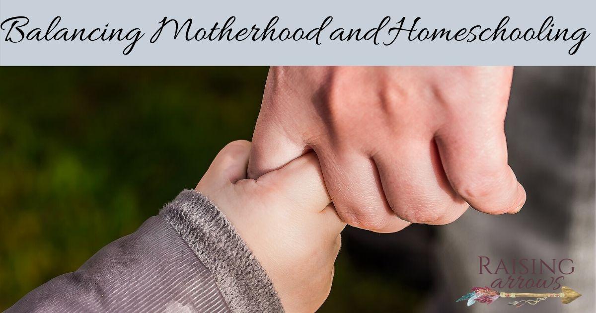 How to Balance Being Mom and Homeschool Teacher