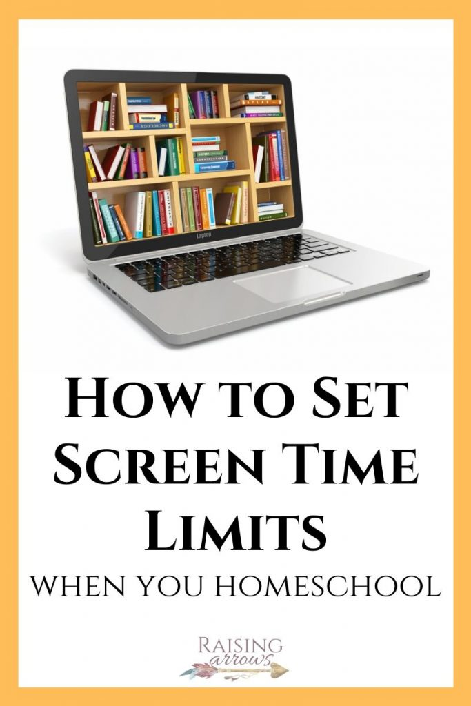 Homeschoolers have many options for classes and resources online. How do we set boundaries for educational and entertaining screen time in our homeschool?