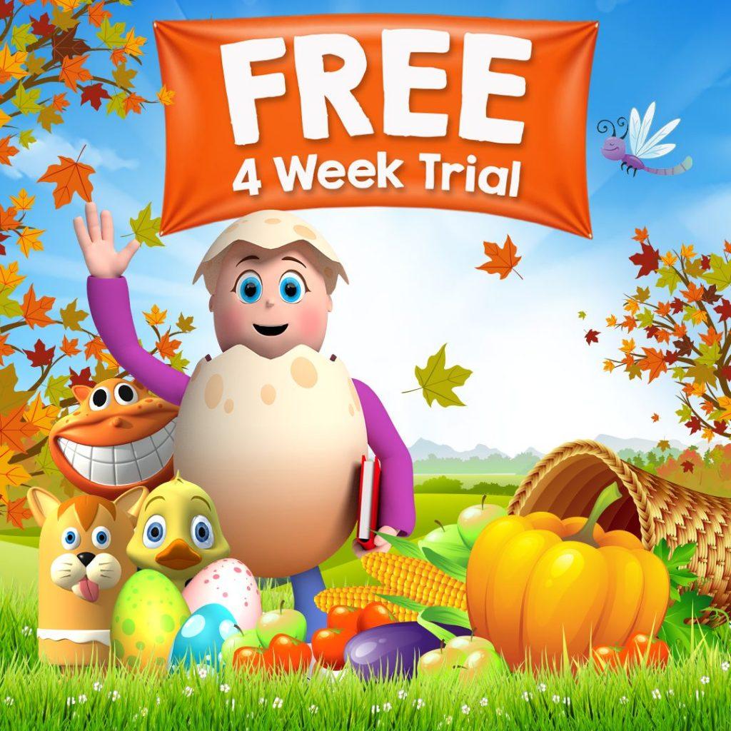 Reading Eggs 4 week trial
