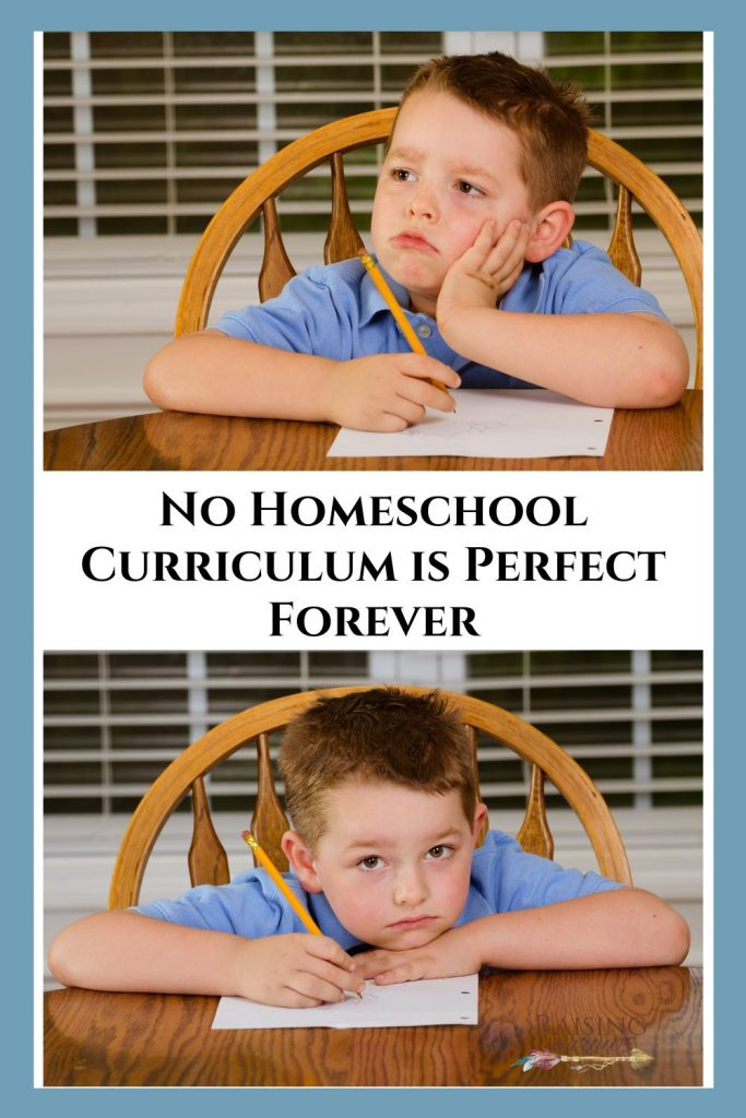 How to choose the best homeschool curriculum for your family, as well as how to let go of expectations about sticking with that one curriculum forever.