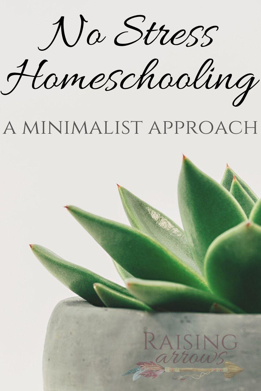 No Stress Homeschooling – A Minimalist Approach