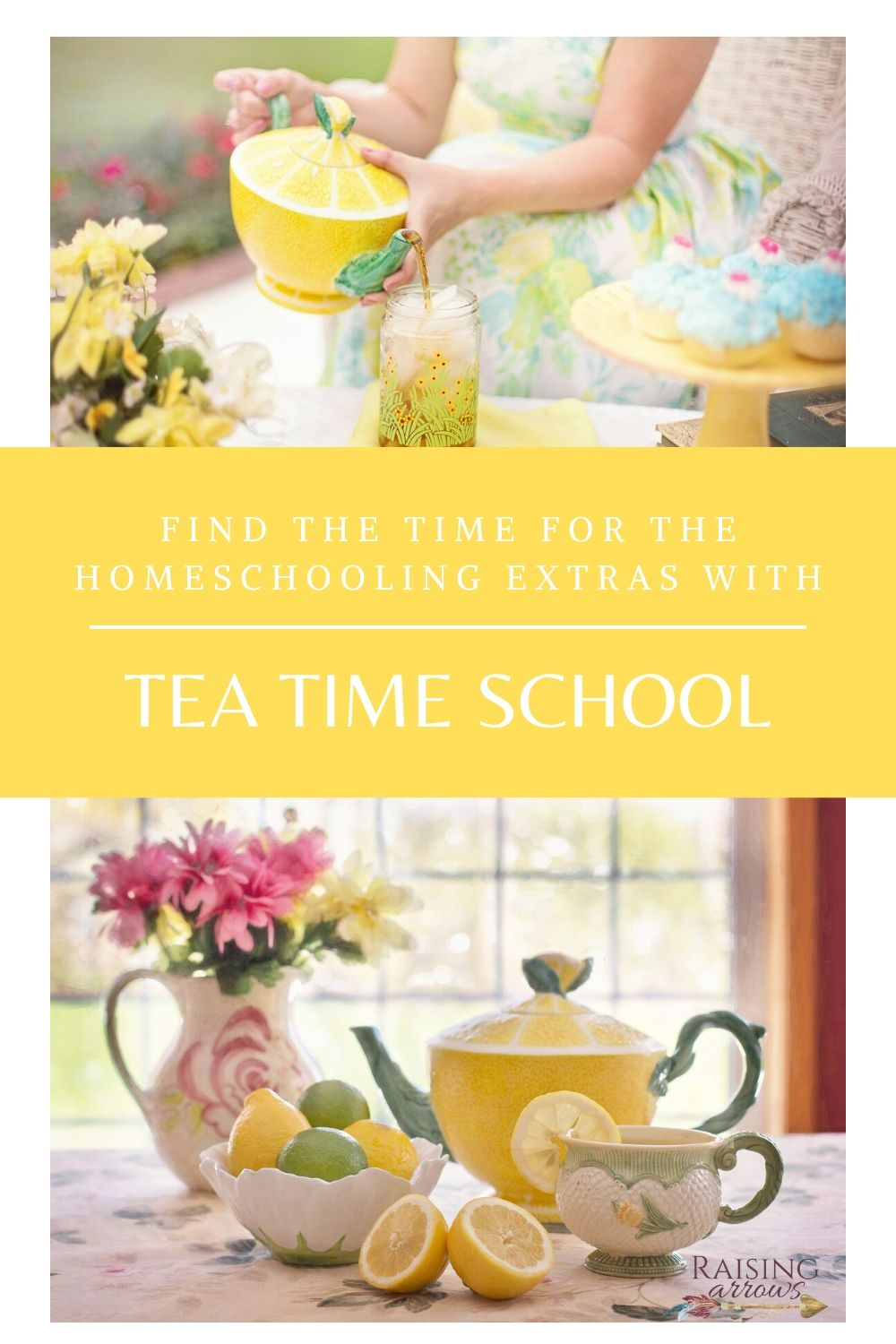 Fit in Extra Homeschool Subjects with Tea Time School