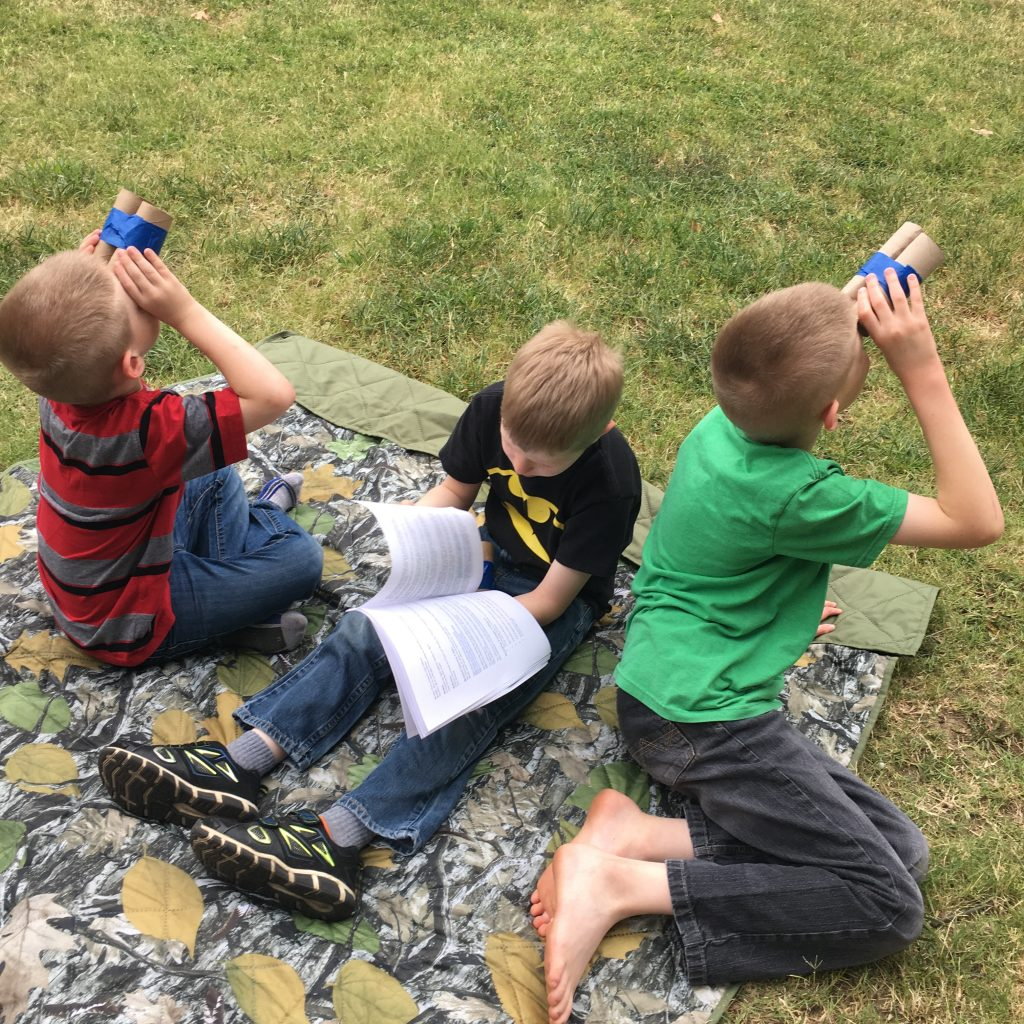 learning about clouds - How to Start Homeschooling Slowly Over the Summer