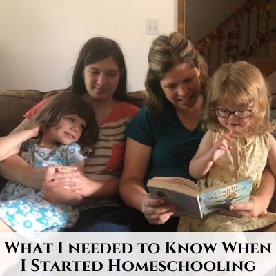 What I Needed to Know When I Started Homeschooling – Podcast #93