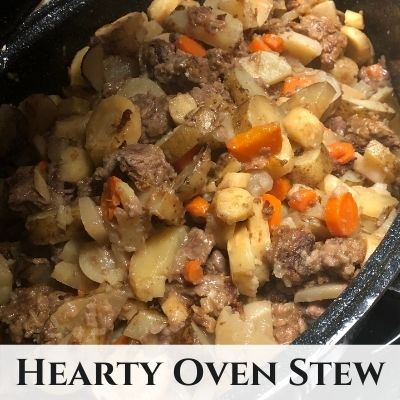Hearty Winter Vegetable Oven Stew