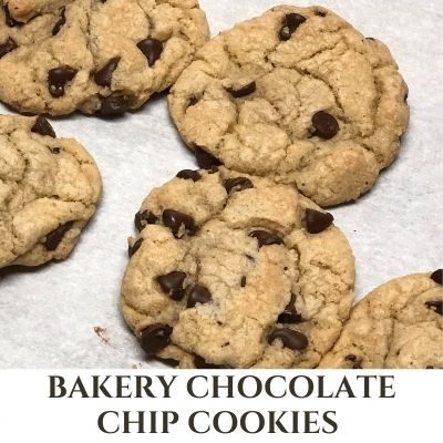 Bakery Soft Chocolate Chip Cookies – Large Batch