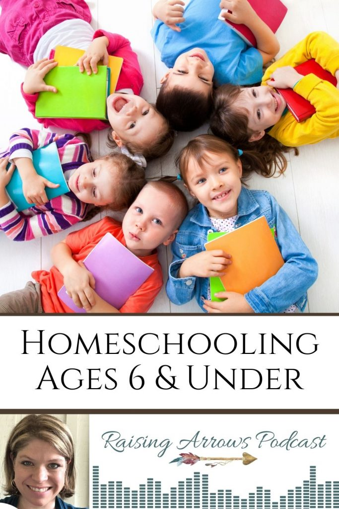 What should homeschooling look like if you only have kids ages 6 and under?  How much time does it take and what subjects should you cover?