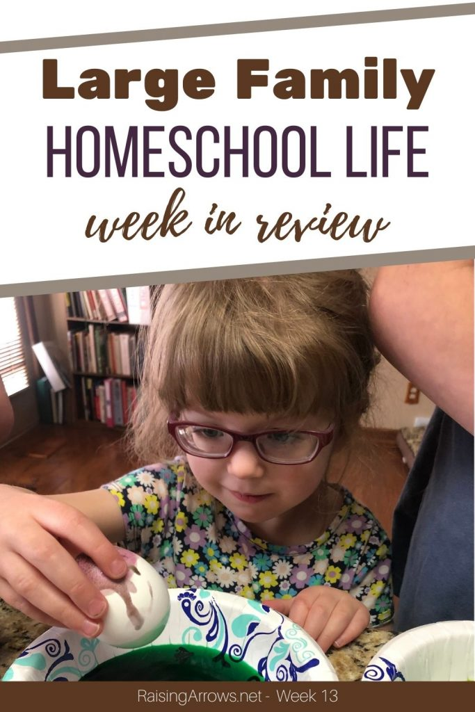 Charlemagne, Vikings, and Easter preparations abound!  Plus, a new book recommendation for homeschool moms!