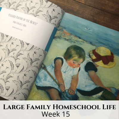 Large Family Homeschool Life Week – Week 15 of 2021