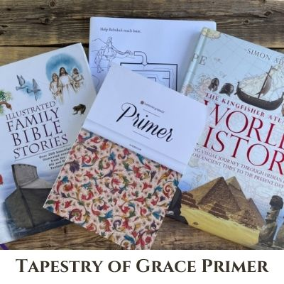 Tapestry of Grace Primer Review – Early Elementary History Based Curriculum