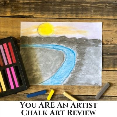 How to Add Art into Your Homeschool Lessons – You ARE An Artist Clubhouse Review