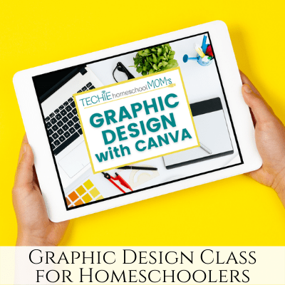 Graphic Design Beginners Class Perfect for Homeschoolers!