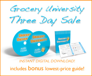 3 Day Sale for Grocery University