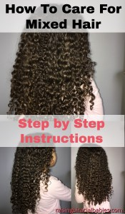 mixed hair | how to care for biracial hair | biracial hair | frizz free mixed race hair | curly biracial hair | haircare for mixed hair | haircare for biracial curly hair |
