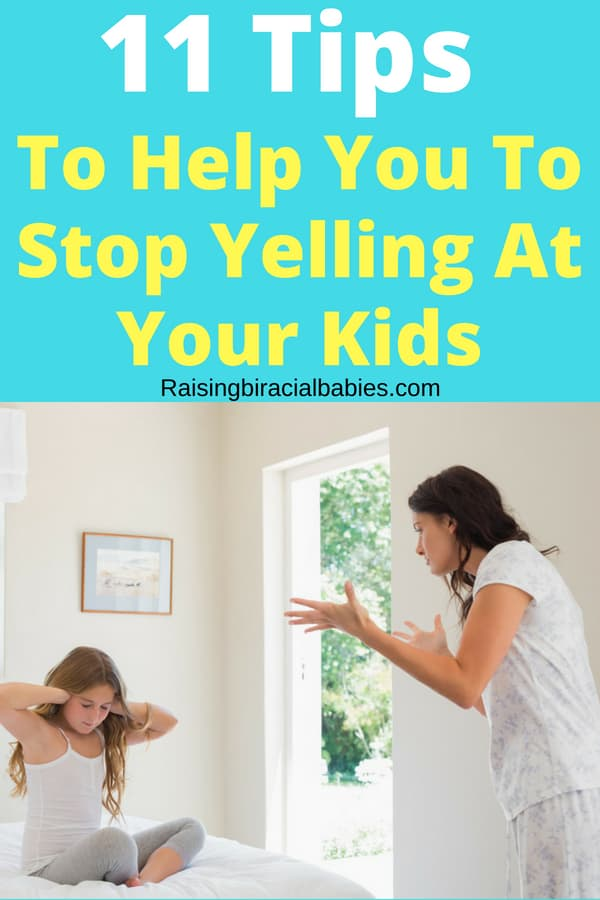 stop yelling at your kids | parenting | positive parenting tips | motherhood |