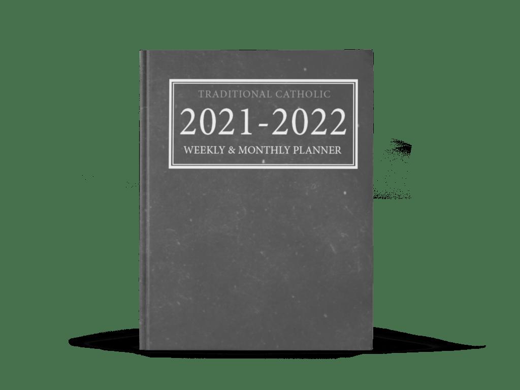 traditional catholic planner 2022