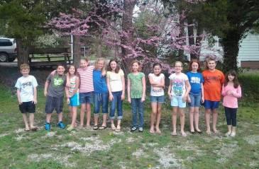 Dina and her crew
