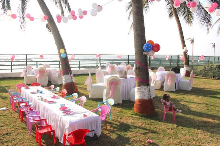 Outdoor Birthday Party or Baby Shower Decoration Ideas